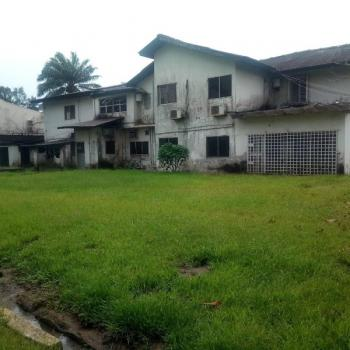 Vacant,old Demolishable Mansion, with a 7 Room Bq, Living Room, Green Lawn Area Etc, Off Queens Drive,old Ikoyi, Old Ikoyi, Ikoyi, Lagos, Detached Duplex for Sale