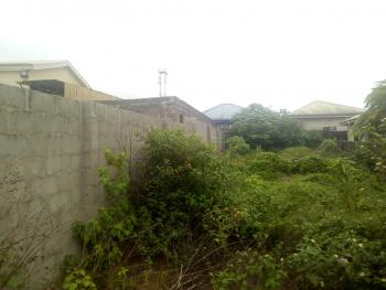 Half Plot Land Fenced Gate in a Very Decent Area, Ekoro, Abule Egba, Agege, Lagos, Mixed-use Land for Sale