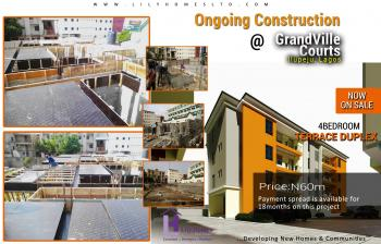 Exquisite 4 Bedroom Maisonette with Ultra-modern Facilities (off-plan, Under Construction, Only 2 Units Available Now), Behind Gtb, Town Planning Road, Ilupeju Estate, Ilupeju, Lagos, Terraced Duplex for Sale