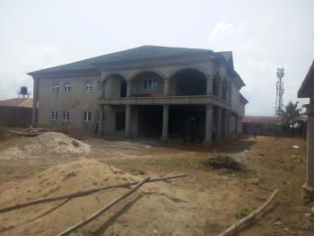 Newly Built Uncompleted 10 Bedroom Mansion All Room En Suit with 2 Bedroom Underground, Baruwa, Ipaja, Lagos, House for Sale