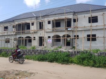 Block of 4 Units of 3 Bedroom Flats (carcass), Awoyaya, Ajah, Lagos, Block of Flats for Sale