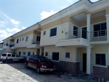 Nice 4 Bedroom Terraced Duplex, Bakare Estate, Agungi, Lekki, Lagos, Semi-detached Duplex for Sale