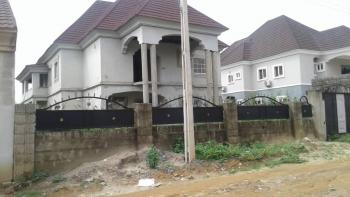 Cheap Carcass Duplex, Ipent 7, By Efab Metropolis, Gwarinpa, Abuja, Detached Duplex for Sale