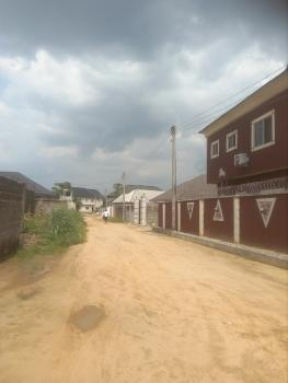 2 Plots of Land with an Uncompleted 2 Nos. 2 Bedroom and 1 Bedroom, Rumunduru-aeneka Road, Rumuosuwu, Eneka, Port Harcourt, Rivers, Land for Sale