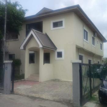 Waterfront 4 Bedroom Semi Detached Duplex with 2-room Bq in a Mini Estate, Osborne Phase 1, Osborne, Ikoyi, Lagos, Semi-detached Duplex for Sale