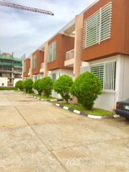 Tastefully Finished 4 Bedroom Luxury Terrace House with a Room Boys Quarters, Osbourne 1, Osborne, Ikoyi, Lagos, Terraced Duplex for Rent