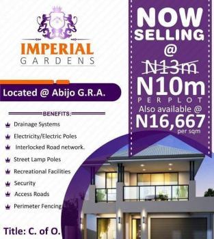 Land with C of O for Sale at Sangotedo Ajah, Abijo Gra, Sangotedo, Ajah, Lagos, Residential Land for Sale