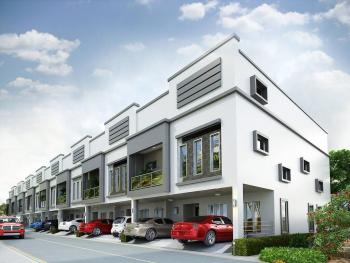 Selling Off Plan Neatly Built Brand New Multiple Houses in a Well Maintained Estate, Lafiaji, Lekki, Lagos, House for Sale