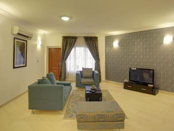 Graciously Furnished Serviced 3 Apartment, Banana Island, Ikoyi, Lagos, Flat Short Let