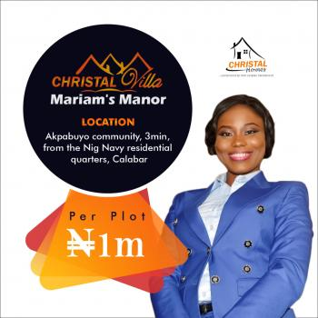 Estate Land, By Nigerian Navy Residential Quarters, Akpabuyo, Cross River, Residential Land for Sale