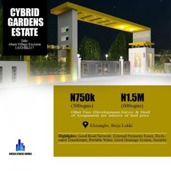 Affordable Land, Cybrid Gardens Phase 2, New International Airport Road, Eleranigbe, Ibeju Lekki, Lagos, Land for Sale