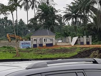 600sqm Lands for Sale in a Gated Estate, Behind The Port Harcourt International Airport, Omagwa, Ikwerre, Rivers, Residential Land for Sale