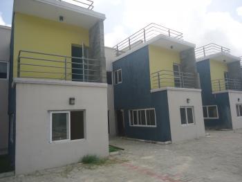 Luxury 4 Bedroom Terrace Duplex with Excellent Facilities, Oceanbay Estate, Lafiaji, Lekki, Lagos, Terraced Duplex for Sale