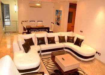 Luxury Two Bedroom Apartment in Banana Island, 2nd Avenue, Banana Island, Ikoyi, Lagos, Flat Short Let