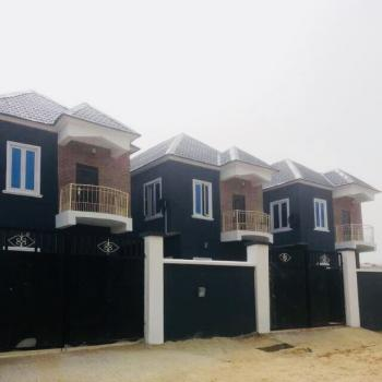 Lovely New Four Bedroom Fully Detached House with Bq, Badore, Ajah, Lagos, Detached Duplex for Sale