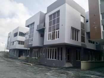 Five Bedroom Semi Detached House with Bq  and 24 Hours Power, Osapa, Lekki, Lagos, Semi-detached Duplex for Rent