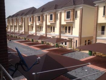 Exquisite Newly Finished 4 Bedroom Terraces, Chevron Alterntive Road, Chevy View Estate, Lekki, Lagos, Terraced Duplex for Rent