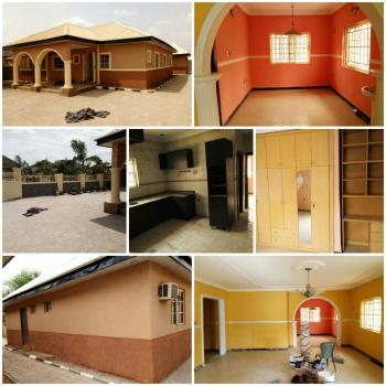 Nicely Maintained & Decent 3 Bedroom Detached Bungalow with 2 Rooms Bq, Nzube Estate Near Efab Estate, Lokogoma District, Abuja, Detached Bungalow for Sale