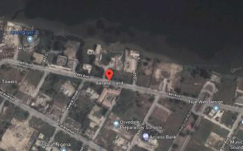 3000 Square Meter Waterfront Land, Banana Island, Ikoyi, Lagos, Residential Land for Sale
