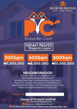 Luxurious Estate in New Developing, Praiseville Court, Isheri Riverview Estate, Gra, Isheri North, Lagos, Residential Land for Sale
