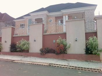 6 Bedroom Mansion with 2 Sitting Room, 2 Staircase, Study Room, Jacuzzi in The Master Bedroom and Madam Bedroom, Plot 17,block Xxvi, New Chime Estate, Thinkers Corner, Enugu, Enugu, Detached Duplex for Sale