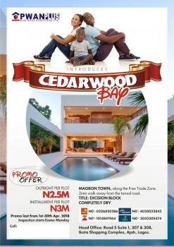 Cedarwood Bay, Before Lekki Free Trade Zone, Eleko, Ibeju Lekki, Lagos, Mixed-use Land for Sale
