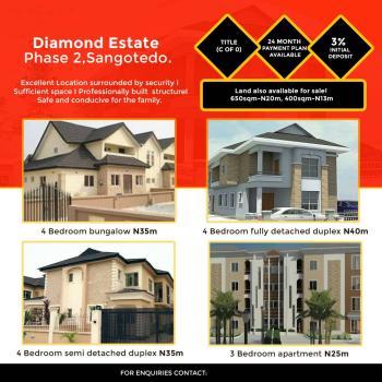 Diamond Estate, Ajah, Lagos, Detached Duplex for Sale