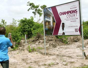 Promotional Offer on Champions Court Lekki, Ago Kayetoro, Behind Amen Estate Phase 1, Eleko, Ibeju Lekki, Lagos, Mixed-use Land for Sale