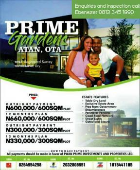 Prime Gardens, Atan Ota , Ogun State, Prime Gardens, Atan, 5 Min From Shiloh Ground, Ado-odo/ota, Ogun, Mixed-use Land for Sale