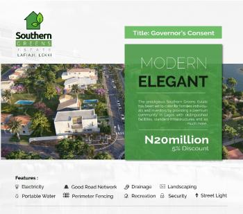 Governors Consent, Lafiaji, Lekki, Lagos, Residential Land for Sale