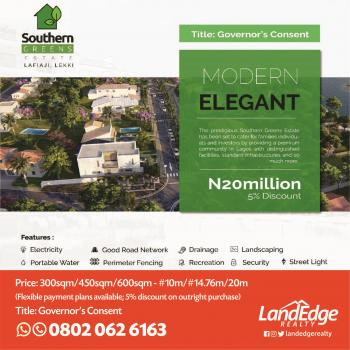 Southern Green Estate,, Orchid Road, Lafiaji, Lekki, Lagos, Residential Land for Sale
