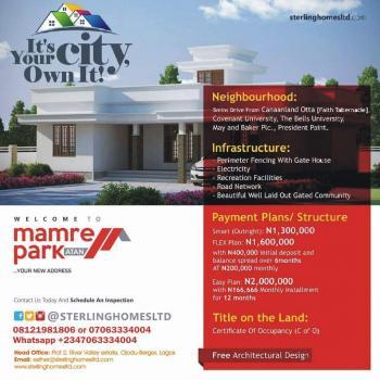 Plots of Land in an Estate, Kajola Street, Atan-ota, Sango Ota, Ogun, Residential Land for Sale