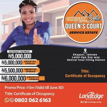 Queens Court, Shapati, After Bogije, Lekki Expressway, Lekki, Lagos, Residential Land for Sale