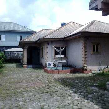 Well Located 4 Bedroom Detached Bungalow with 4 Rooms Boys Quarters, Off Ada George Road, Port Harcourt, Rivers, Detached Bungalow for Sale