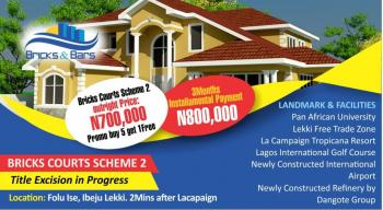 Affordable Plots of Land, After La Campagne Tropicana Resort, Akodo Ise, Ibeju Lekki, Lagos, Residential Land for Sale