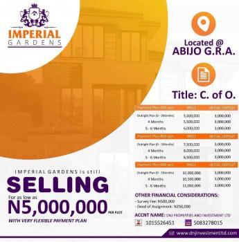 Land for Sale ( Imperial Garden ), Imperial Gardens, Abijo, Lekki, Lagos, Residential Land for Sale