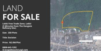 58 Acres of Land for Sale at The Lekki Free Trade Zone, Lekki Free Trade Zone, Akodo, Eleko, Ibeju Lekki, Lagos, Mixed-use Land for Sale