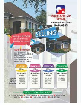 Landed Properties, Aradagun, Badagry, Lagos, Mixed-use Land for Sale