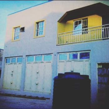 a Storey Building with 3 Bedroom Upstairs and Lock-up Shop with Self Con, Ground Floor, Apo Mechanic Village, Apo, Abuja, Detached Duplex for Sale