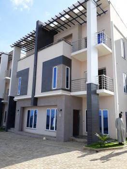 4 Bedrooms Terrace Duplex with Bq Beautiful and New with Lovely View, Katampe Diplomatic Zone, Katampe Extension, Katampe, Abuja, Terraced Duplex for Sale
