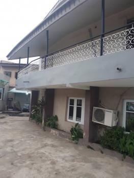 Executive & Tastefully Finished Massive 4br Flat Upstairs Just 2flats in The Compound at Off Nnobi Right Thru Agboyin Av. Adelabu, Adelabu, Adelabu, Surulere, Lagos, Block of Flats for Sale