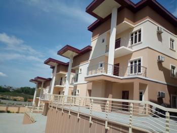Luxury 6 Unit 4-bedroom Terrace Duplex with 1 Room Bq, Nadir El-rufai Street, Along Coza Church, Guzape District, Abuja, Terraced Duplex for Rent