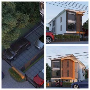 3 Bedroom Semi Detached Duplexes(front & Back) + Bq, Along Odegbami Street, Adeniyi Jones, Ikeja, Lagos, Semi-detached Duplex for Sale