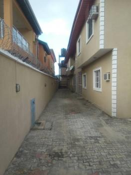 Relatively New Built and Tastefully Finished Luxury Block of 4 Flats of 3 Bedrooms with Industrial Borehole, in a Serene Area Behind Blenco, at Zina Estate, Ado, Ajah, Lagos, Block of Flats for Sale