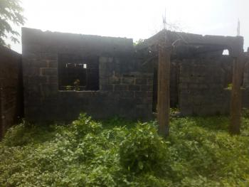 2 Bedroom Flat Uncompleted Up to Roofing Level on Half Plot of Land in a Very Decent Area, Ayobo, Ipaja, Lagos, Flat for Sale