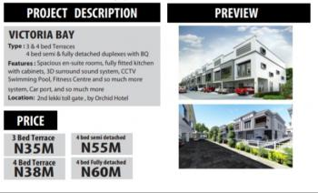 Affordable 3 Bedroom Luxury Duplexes, Orchid Hotel Road, Off Chevron Toll Gate, Chevy View Estate, Lekki, Lagos, House for Sale