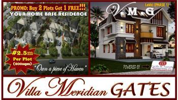 Villa- Meridian Gates ( V.m.g )  100% Guaranteed Masterpiece., Magbon Alade, Via Kayetoro, 3 Minute Drive From Lekki Epe Express Way, Lekki, Lagos, Mixed-use Land for Sale