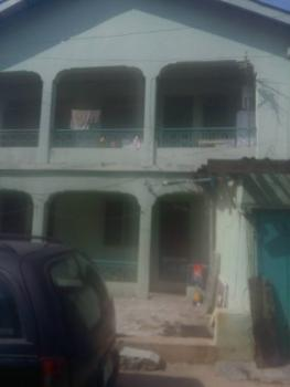 a Storey Building with 6nos of 2 Bedroom Flat,1nos of Room and Parlour, 2 Large Shop That Can Be Converted to a Mini Flat, Fasheun Close, Off Nathan Street, Baptist Church, Ojuelegba, Surulere, Lagos, Block of Flats for Sale