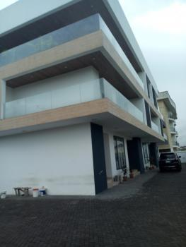 Exquisite Home Built with Fancy Glass 4 Bedroom Terraced, Ikate Elegushi, Lekki, Lagos, Terraced Duplex for Sale