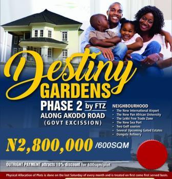 Plots of Land at Destiny Garden Estate Ii, Along Free Trade Zone, Destiny Garden Estate Ii, Along Free Trade Zone, Ibeju Lekki, Lagos, Residential Land for Sale